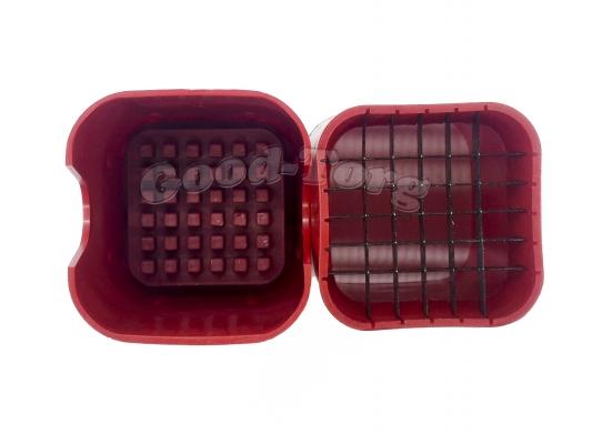 Картофелерезка  стакан - фри красная