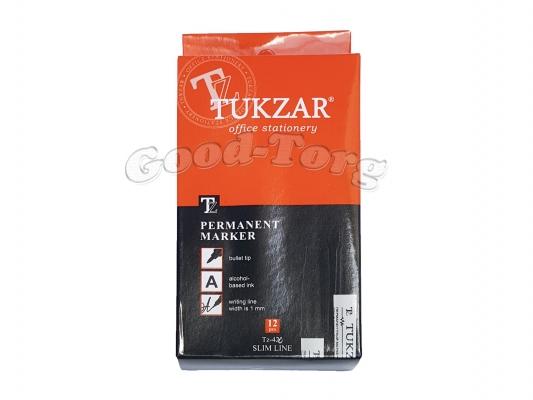 Маркер перманентный тонкий Tukzar 423,1 уп. = 12 шт.