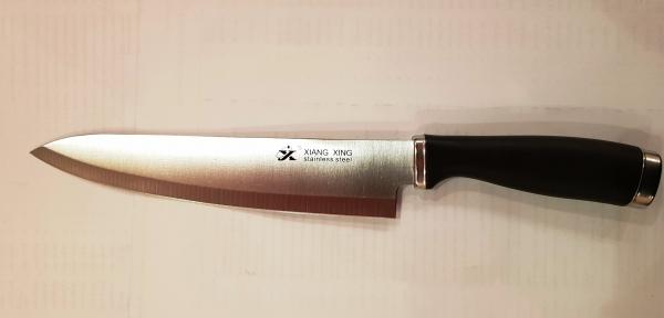 Нож Xiang-Xing (Q55) широкая черная ручка - 33 см.