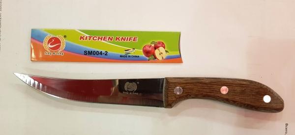 Нож деревянная ручка SM004-2  - 25 см.