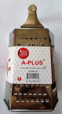 Терка A-Plus 6 ти стор. железная, железная ручка.