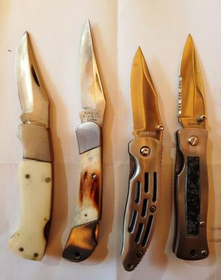 Ножи перочинные раскладные ассорти