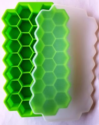 Формы для льда силикон шестигранник 21 см. × 12.5 см.