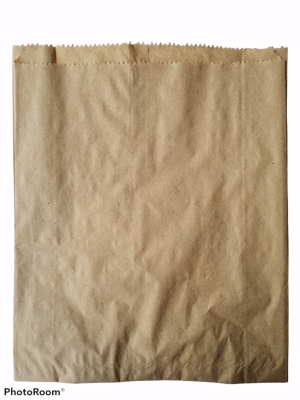 Пакет бумажный крафтовый 25/8 * 32 см. 1 уп. = 100 шт.
