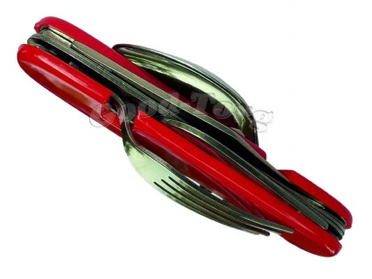 Набор туриста, красный, 260 мм. разобранный, 110 мм собранный (в пачке 12 шт.)