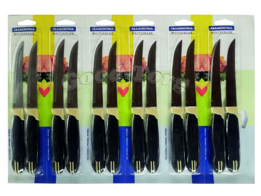 Нож на планшете ровный цветная ручка фабричный Китай, 235 мм., 1 уп. = 12 шт. (продажа листом)