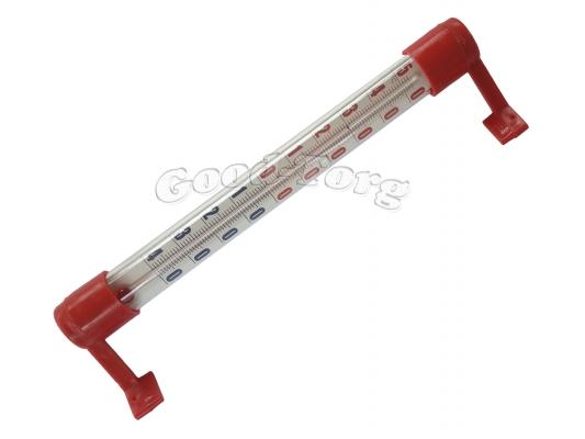 Термометр оконный, красный кончик, 185 мм.