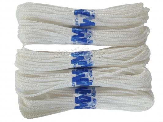 Веревка бельевая белая в пакете ф5 (15 м.) в пачке 5 шт.