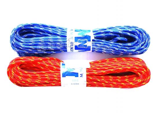 Веревка диам. 5 цветная плетеная полипропиленовая