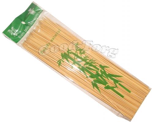 Шпажки для шашлыка 25 см бамбук 100 шт в пачке