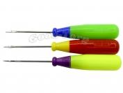 Шило-крючок №10 (пластмассовая ручка)