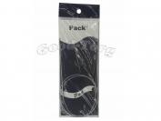 Спицы для вязания на тросике + игла  4 мм