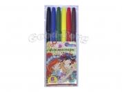 Фломастеры J.Otten 6 цветов рисунки для девочек