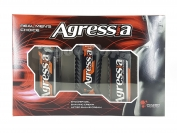 Набор мужской Agressa Normal (Гель для душа + крем для бритья + крем после бритья)