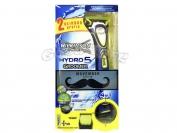 Станок электрический Hydro 5 Groomer.  3 кассеты по 5 лезвий.Машинка для стрижки + батарейка