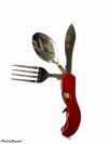 Нож набор швейцарский нож