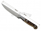 Нож костяная ручка №4, 195 мм.