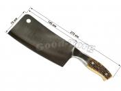 Секач-топор костяная ручка, 275 мм.