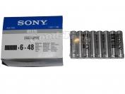 Батарейка Sony, AAA R03, микропалец, 48 шт.