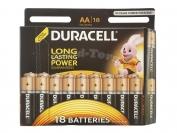 Батарейка DURACELL, AA R6, палец, оригинал, 12 шт.