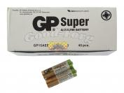 Батарейка GP Super Alcaline, AA R6, палец, вид №1, 40 шт.