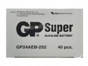 Батарейка GP Super Alcaline, AAA R03, микропалец, вид №1, 40 шт.