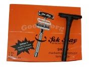 Станок Sik Bay-черная ручка в пачке 24 шт.