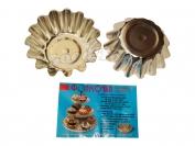 Форма для кекса размер 4-й узкий 1 уп=10 шт.Сталь пищевой d 9.5 см H 4см