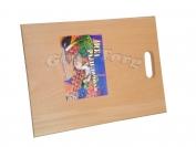 Доска деревянная для нарезки вид N1 16 см ×34см