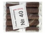 Нить швейная, № 40, 10 шт/уп, коричнево-фиолетовый арт. 16