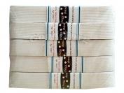 Резинка узкая белая Тасьма 5 метров шир.:2см (5 резинок )( продажа упаковкой )